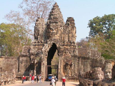 Bayon - Angkor Thom à Siem Reap, Cambodge