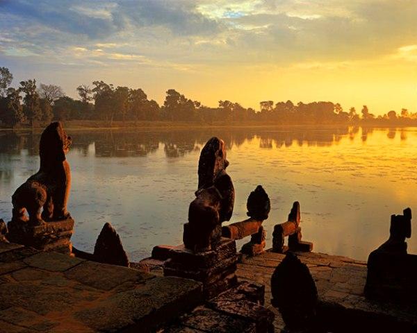 Voyages sur mesure Cambodge 18 jours-Sras-Srang