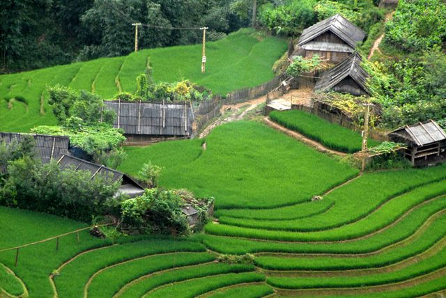 Voyages sur mesure Vietnam - Cambodge 18 jours-village-cat-cat-sapa-vietnam