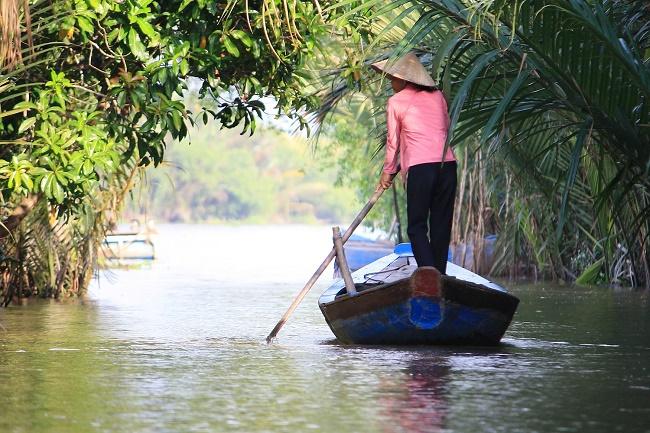 au delta du Mékong Vietnam