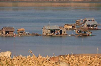 Kratié - une région calme au Cambodge