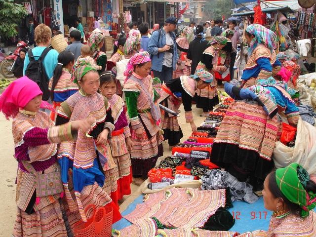 Le marché coloré de Bac Ha, Vietnam - voyage Vietnam Cambodge