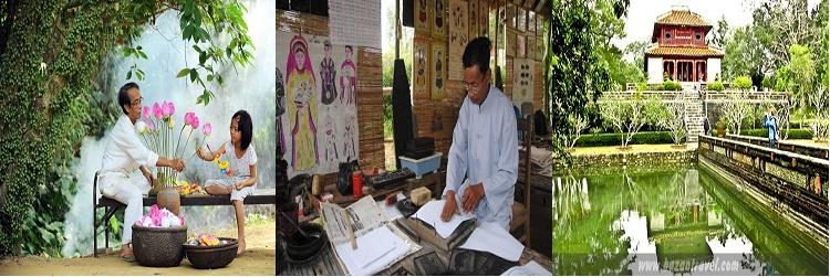 villages de métiers à Hué