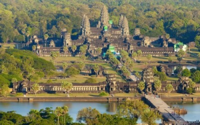 Angkor Wat a Siem Reap Cambodge