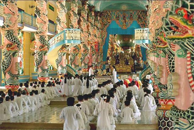 Le siège Cao Dai