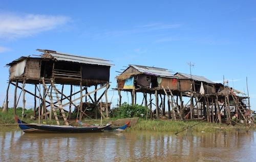 Village Kampong Khleang Tonlé Sap