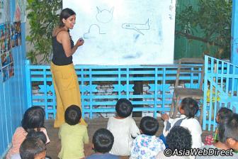 Activités de bénévolat Siem Reap