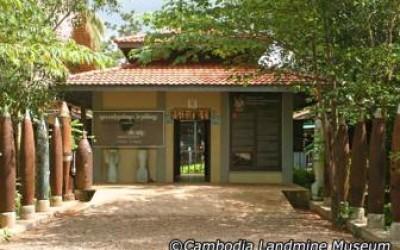 le musée des mines de Cambodge a Siem Reap