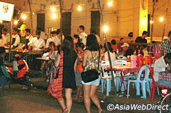 Food Stalls a Siem Reap