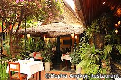 Restaurant Bopha Angkor a Siem Reap