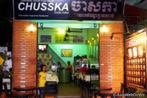 Restaurant Chusska a Siem Reap