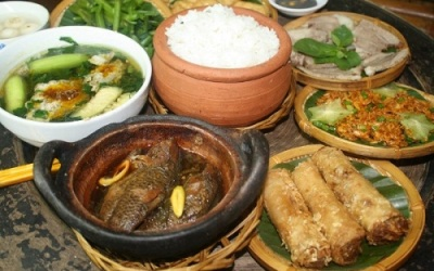 Le restaurant de Lang Cua Dong