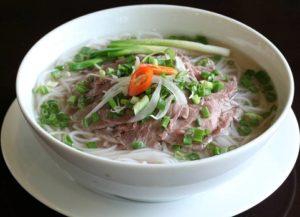 La soupe Pho au bœuf