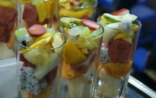 l'assortissement des fruits à To Tich