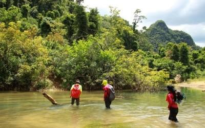 Le système des grottes Tu Lan est à 70km du parc national de Phong Nha – Ke Bang