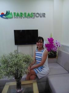Thanh Thuy - conseillere de voyage Far EasTour
