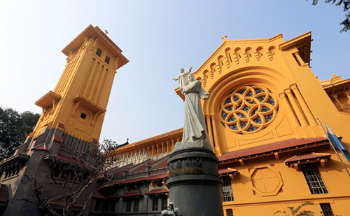 L'église de Cua Bac