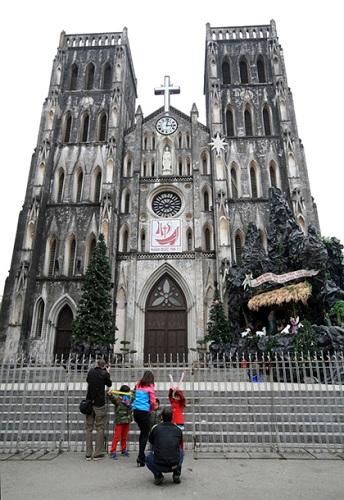 La grande cathédrale de Hanoi