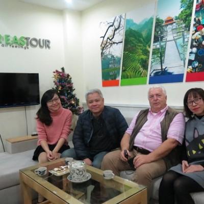 client Franz Klink agence Far East Tour