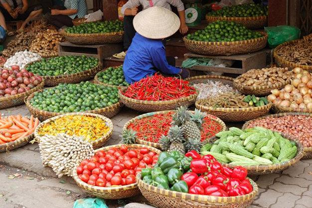 Faites une balade si possible à Hanoi dans les marchés
