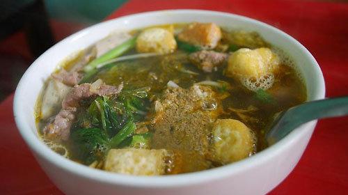 La soupe au crabe Bun rieu cua