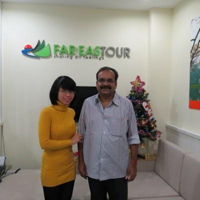 client anglophone de Far East Tour