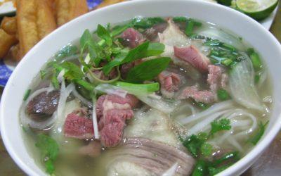 meilleurs plats de Hanoi et de Saigon