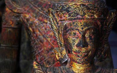 Voyage Phnom Penh - antiquités à Hak Seng Kim