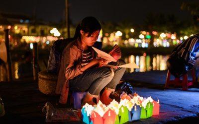 Les lanternes flottantes Hoi An