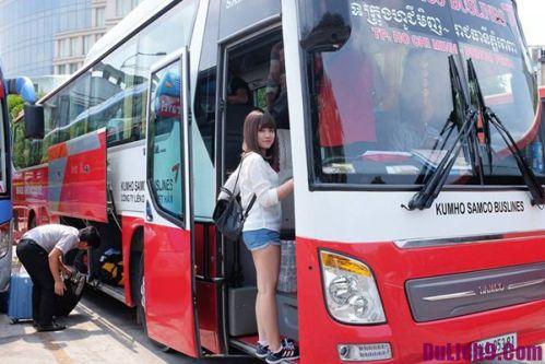 Kumho – Parfait bus Saigon Cambodge.