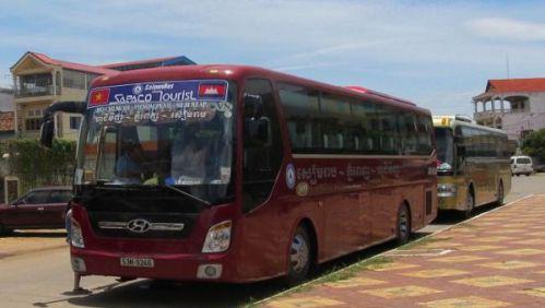 Sapaco, l'agence de bus Saigon Cambodge réputée