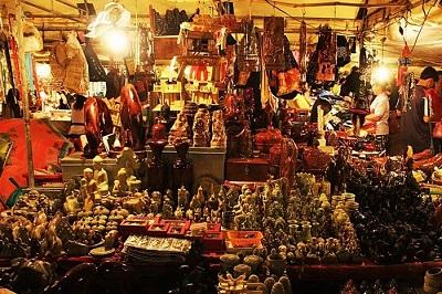 marché de nuit Cambodge