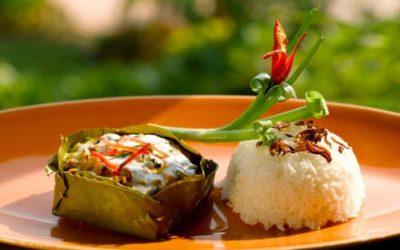 Amok de poisson - Spécialités du Cambodge