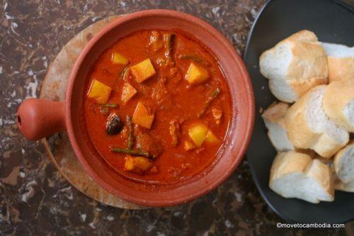 Curry rouge khmer - Spécialités du Cambodge