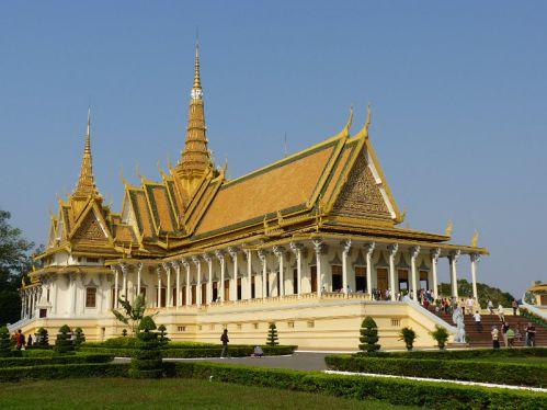 La pagode d'argent - Destinations attrayantes au Cambodge