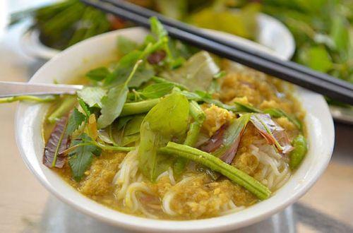 Nom Banh Chok - Spécialités du Cambodge