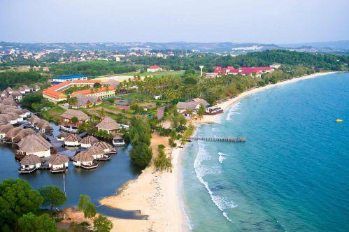 Sihanoukville mer - Voyage Cambodge