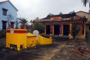 La maison pour rendre le culte des ancêtres de Trân hoi an - voyage sur mesure vietnam